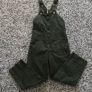 Worn twice Isabel Marant Etoile green overalls